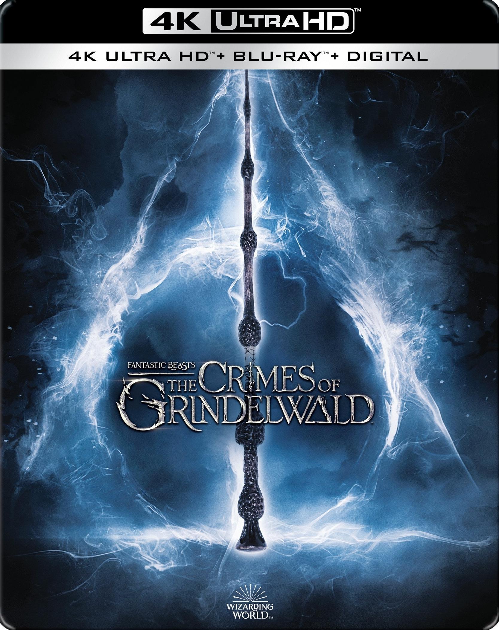 Fantastic Beasts 2: The Crimes of Grindelwald (SteelBook)(4K Ultra HD Blu-ray)