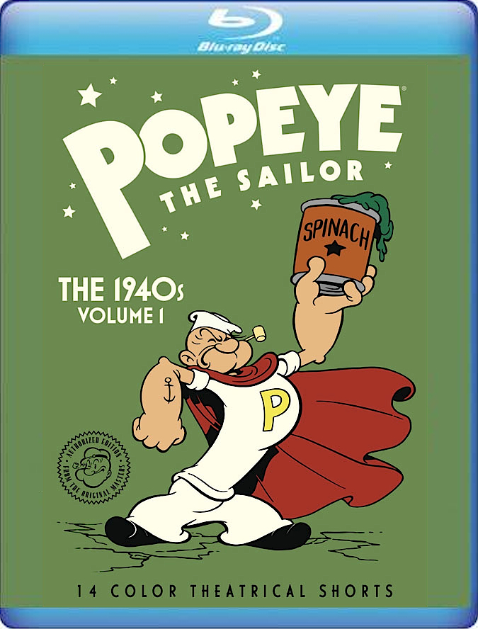 Popeye the Sailor: The 1940s, Volume 1 (Warner Archive Collection)(Blu-ray)(Region Free)(Pre-order / Jan 1)