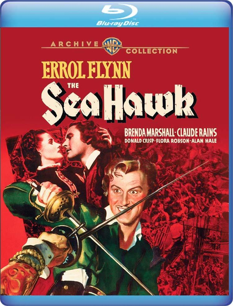 The Sea Hawk (Warner Archive Collection)(Blu-ray)(Region Free)(Pre-order / Jan 1