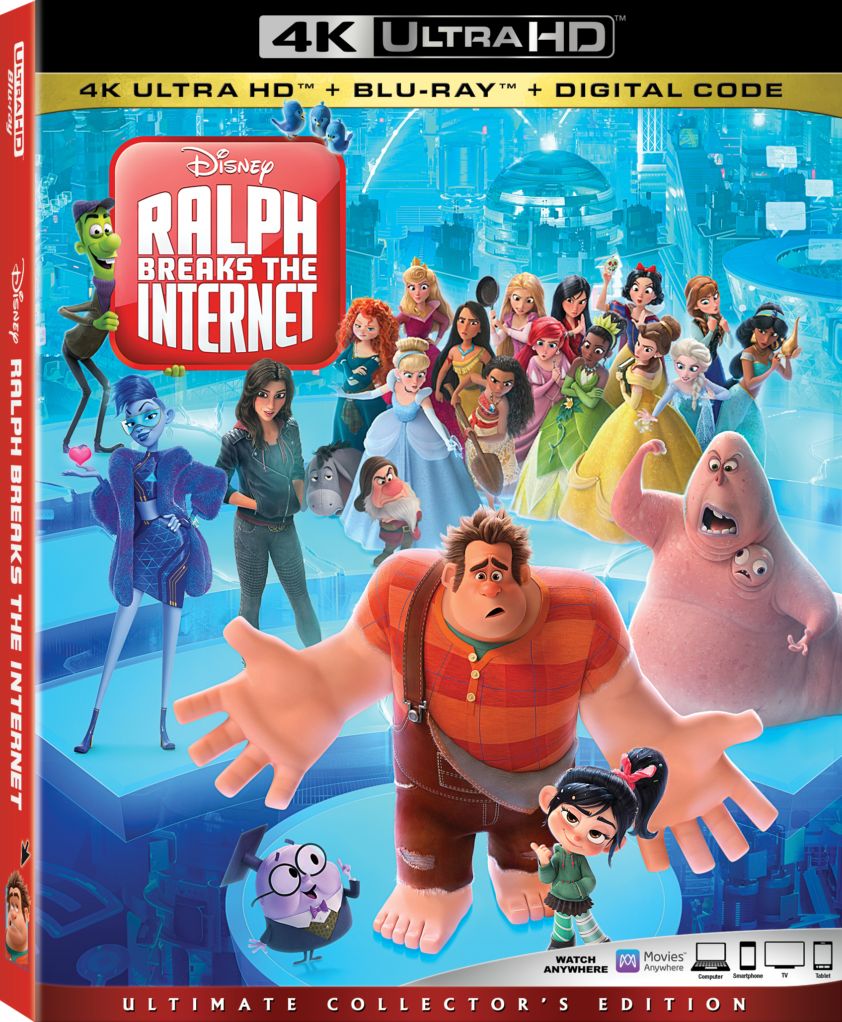 Ralph Breaks the Internet (4K Ultra HD Blu-ray)(Pre-order / Feb 26)