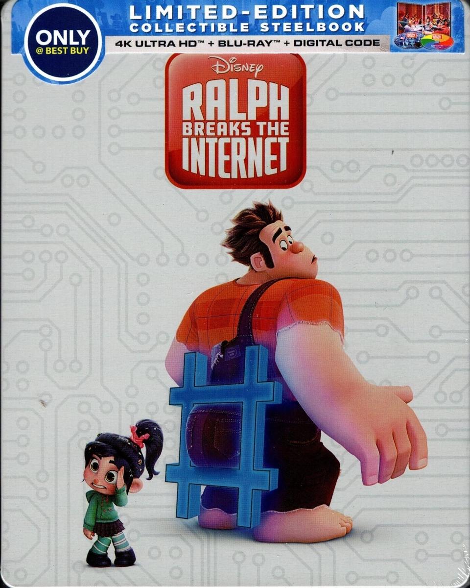 Ralph Breaks the Internet (SteelBook)(4K Ultra HD Blu-ray)
