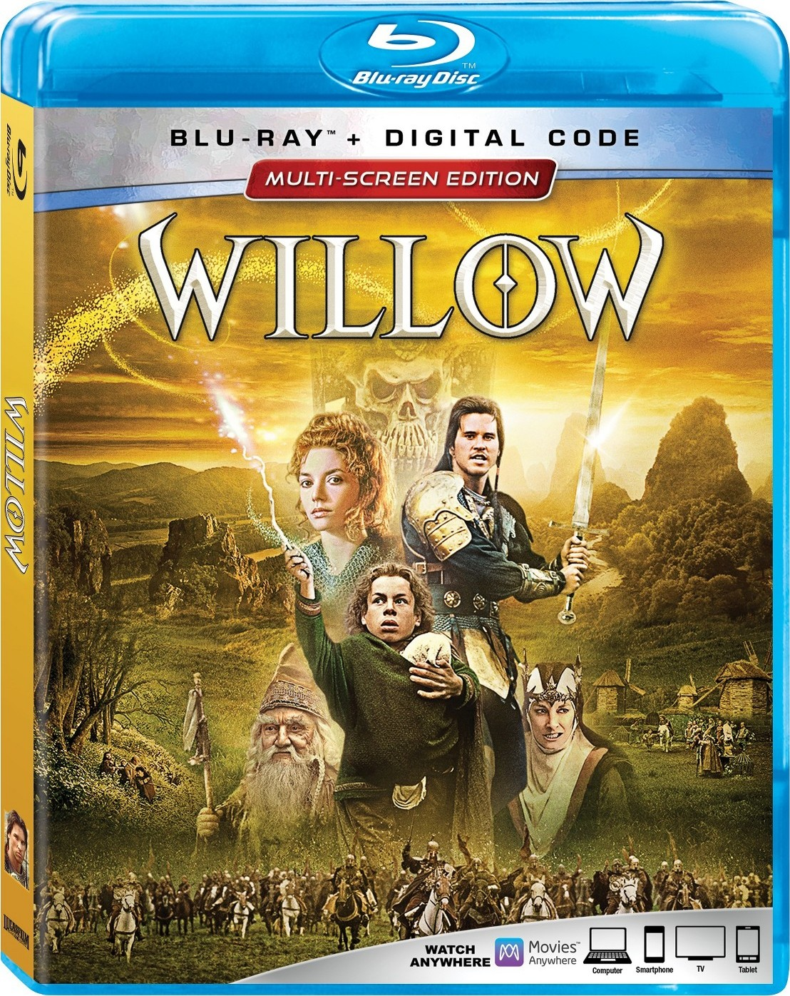Willow (Blu-ray)(Region Free)