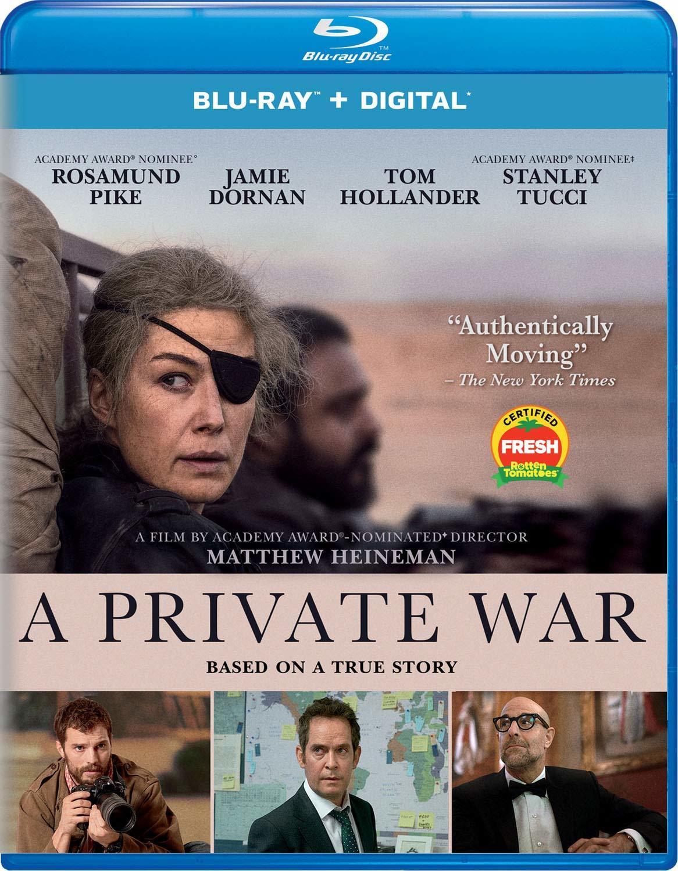 A Private War (Blu-ray)(Region A)(Pre-order / Feb 5)