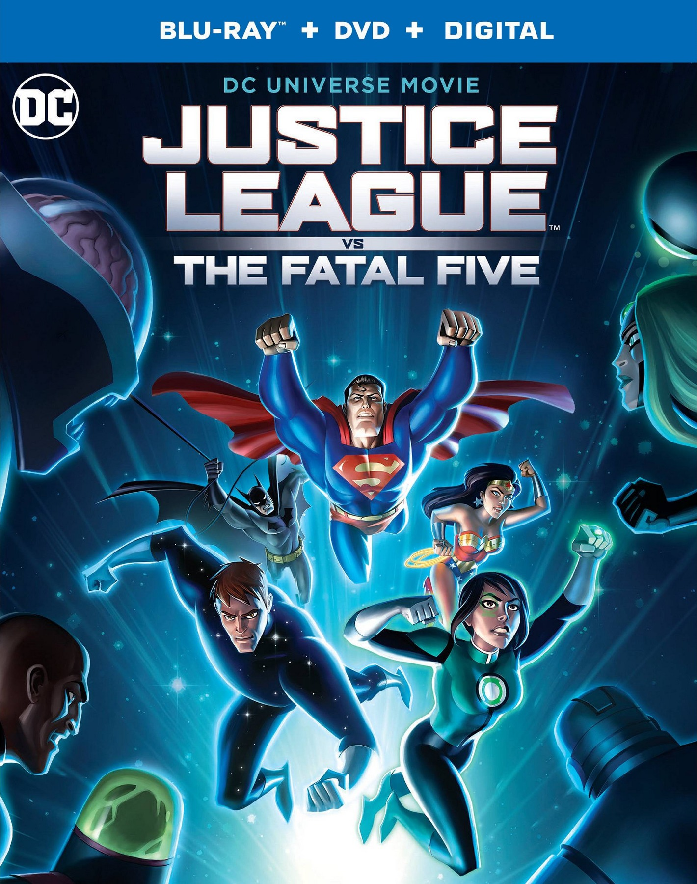 Justice League vs the Fatal Five (Blu-ray)(Region Free)