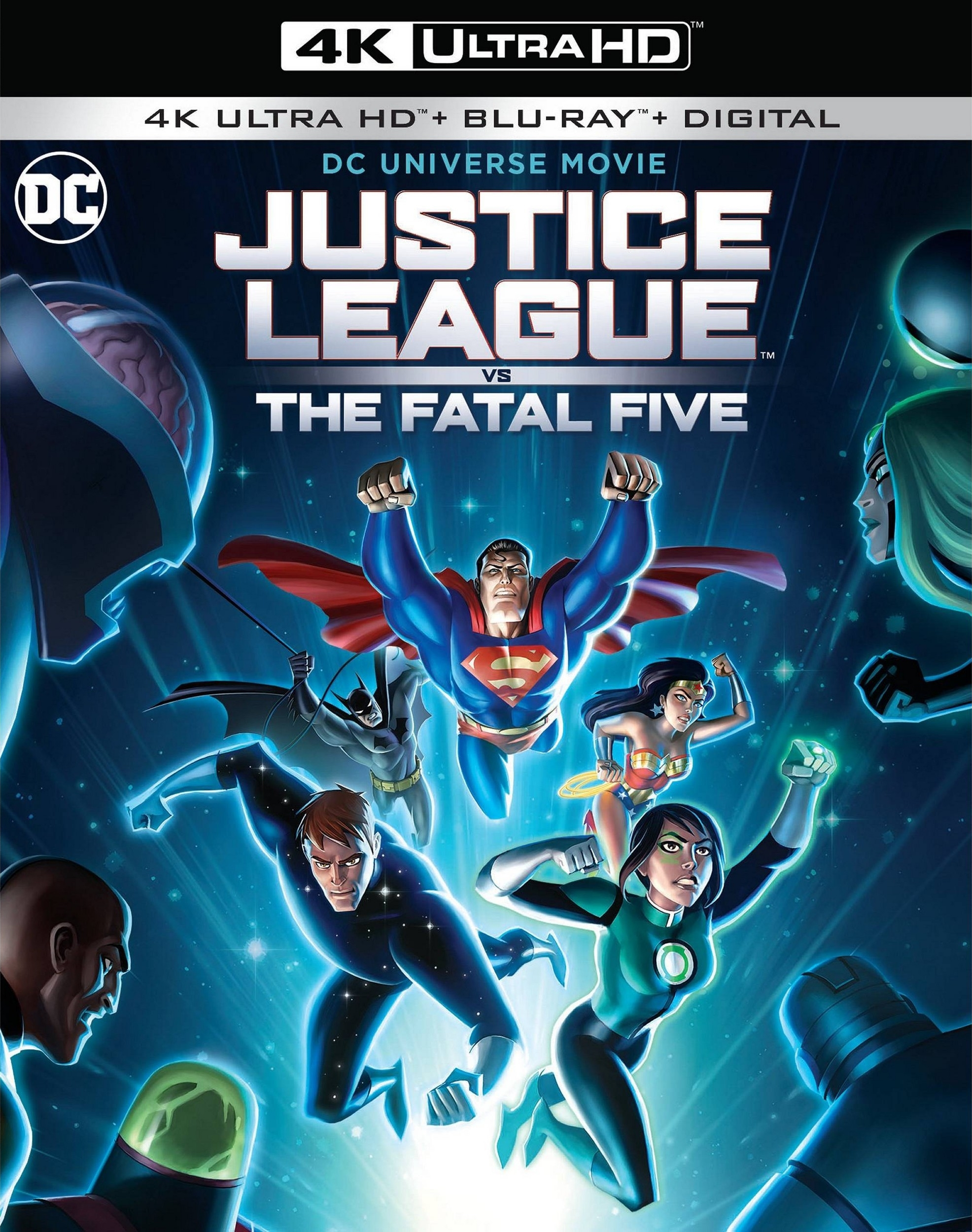 Justice League vs The Fatal Five (4K Ultra HD Blu-ray)(Pre-order / Apr 16)