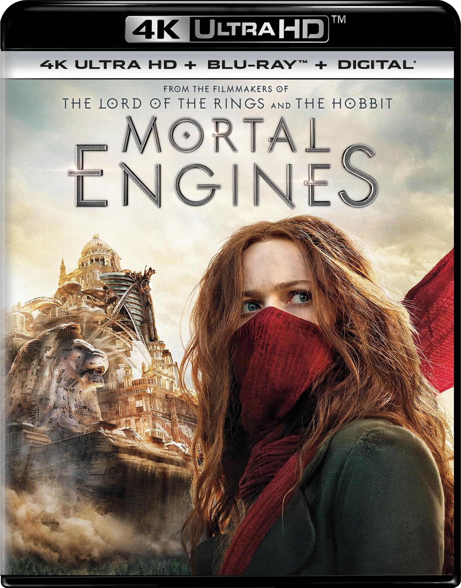 Mortal Engines (4K Ultra HD Blu-ray)(Pre-order / TBA)