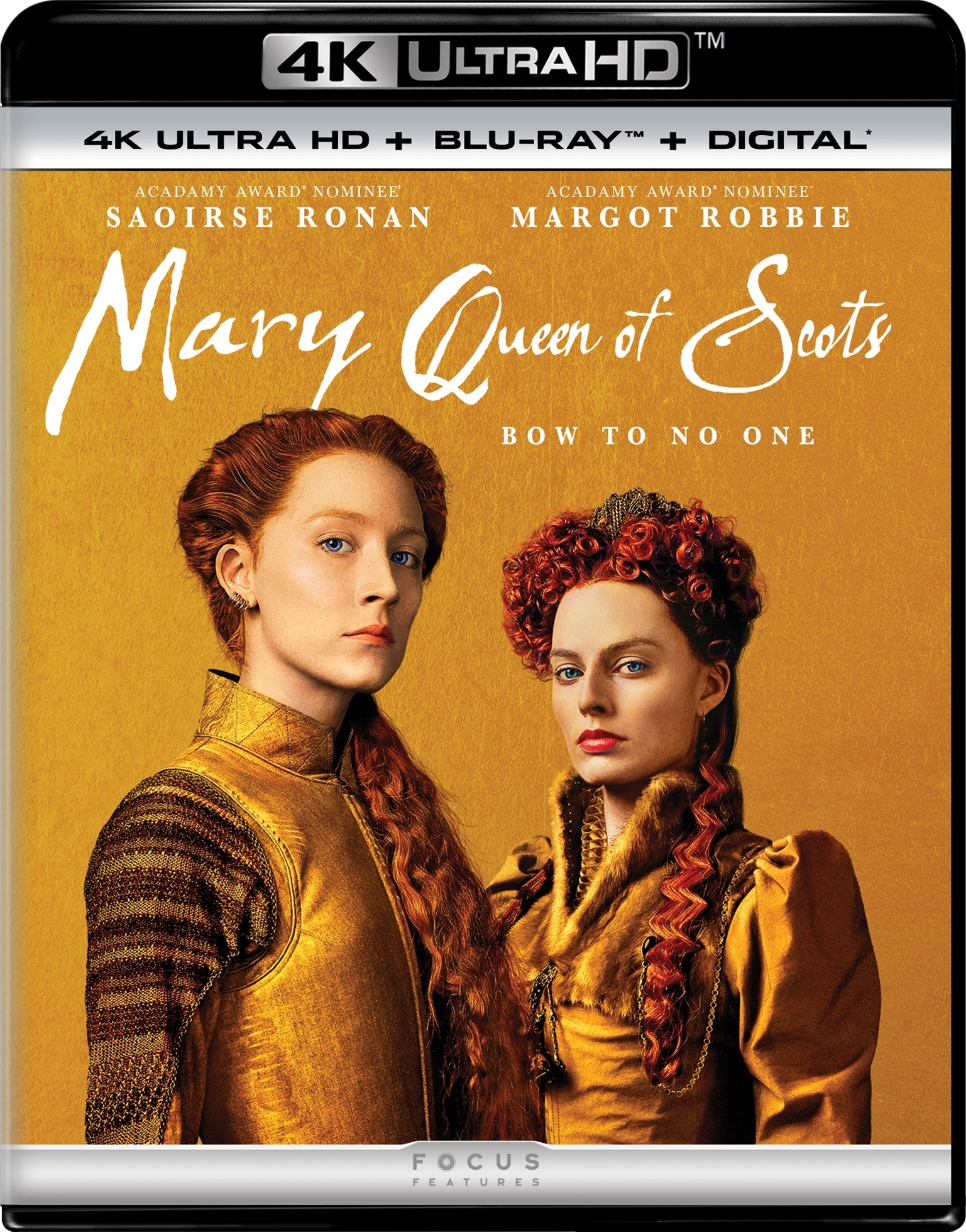 Mary Queen of Scots (4K Ultra HD Blu-ray)(Pre-order / TBA)