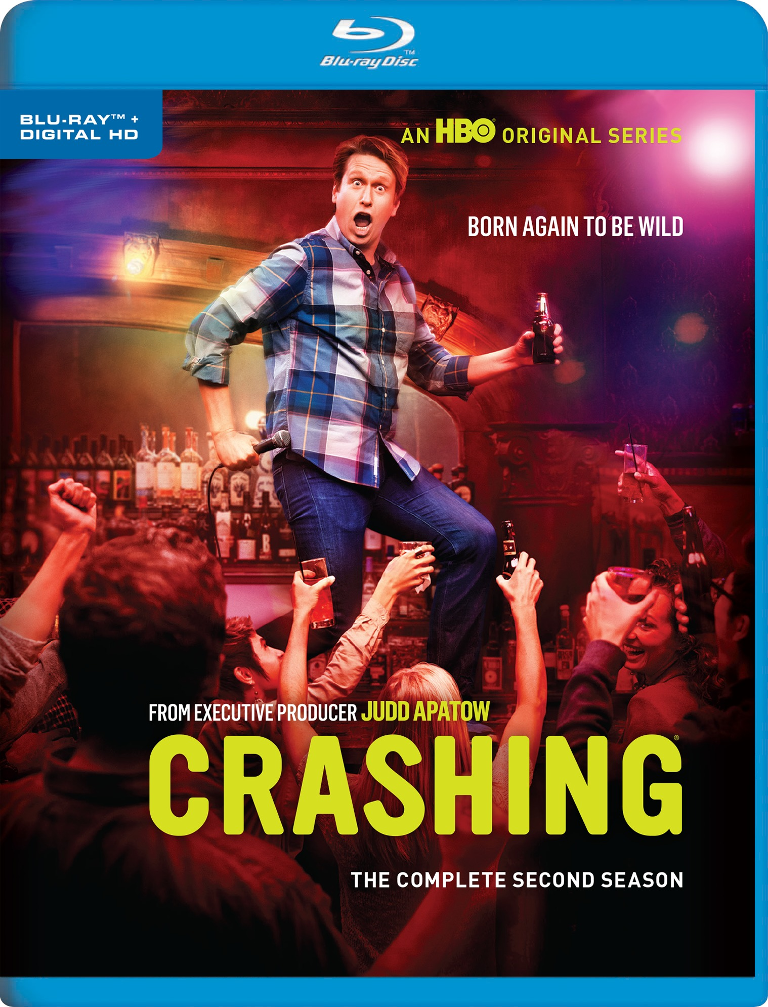 Crashing: The Complete Second Season (Blu-ray)(Region Free)