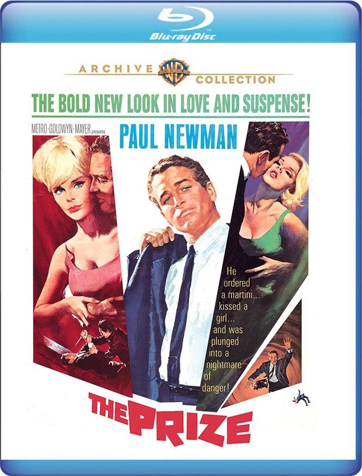 The Prize (Warner Archive Collection)(Blu-ray)(Region Free)