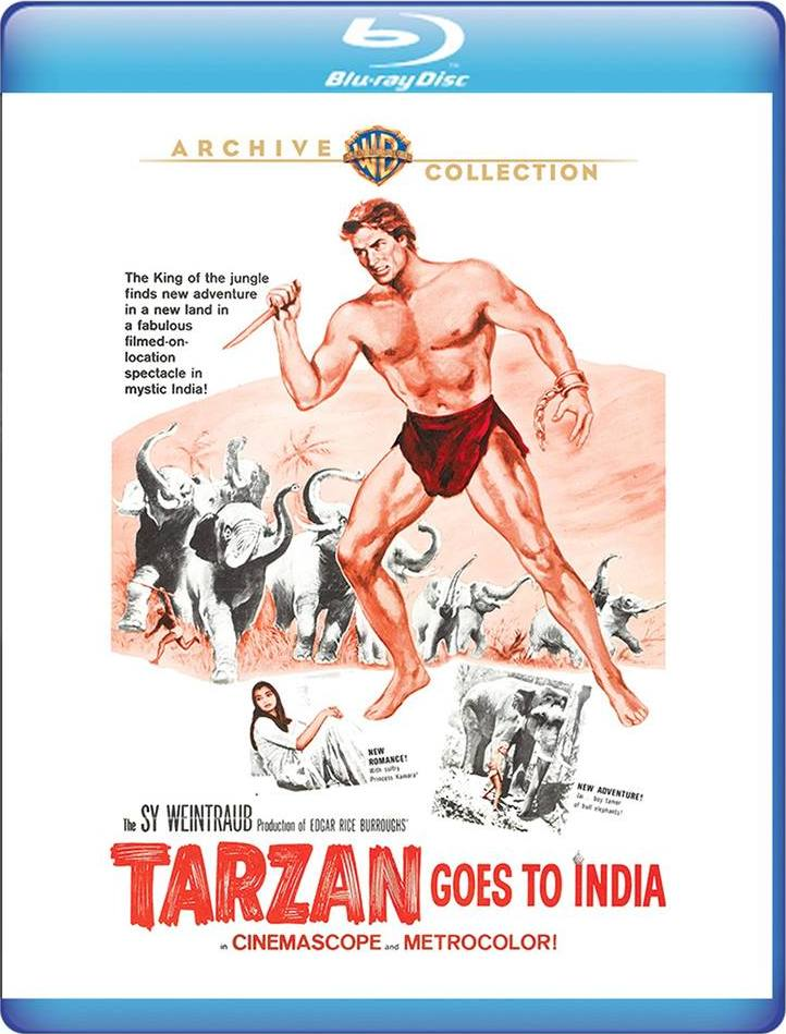 Tarzan Goes to India (Warner Archive Collection)(Blu-ray)(Region Free)