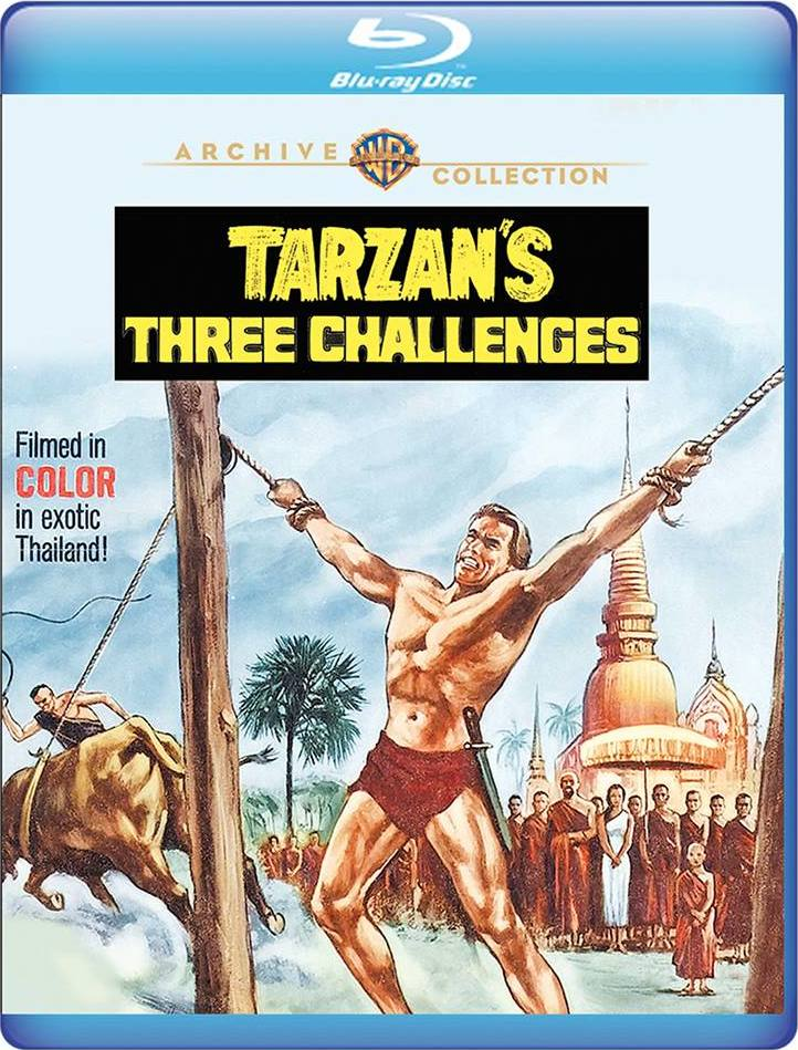 Tarzan's Three Challenges (Warner Archive Collection)(Blu-ray)(Region Free)