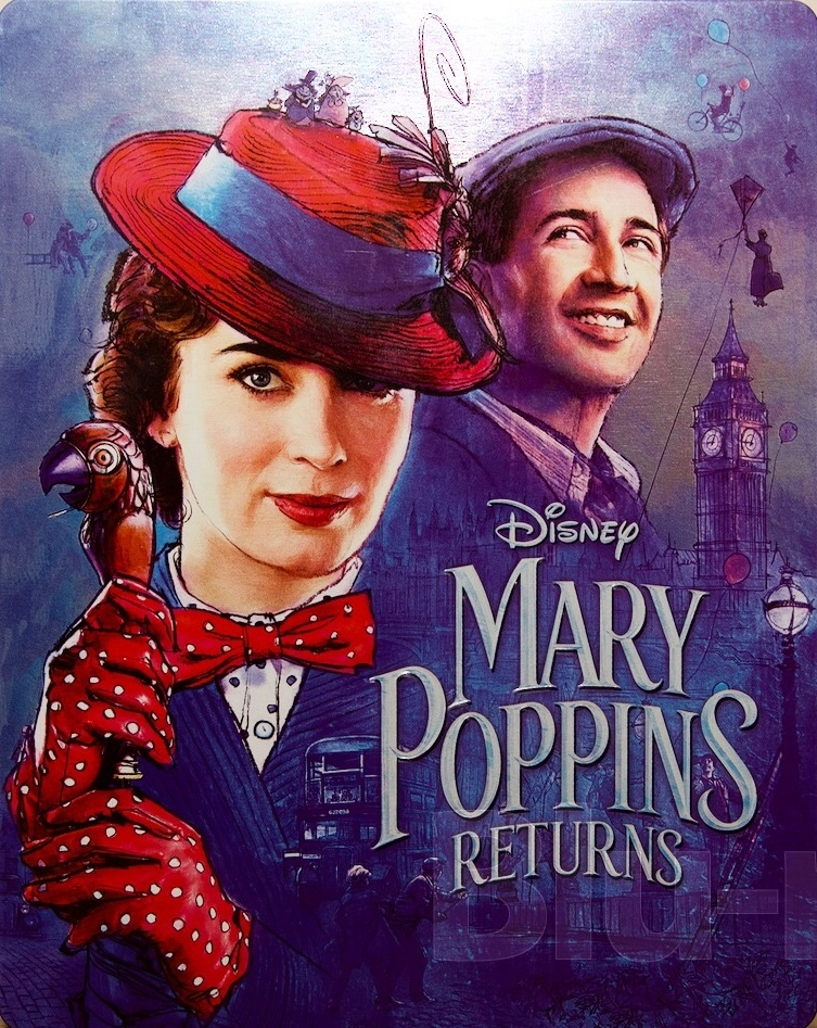 Mary Poppins Returns (SteelBook)(4K Ultra HD Blu-ray)(Pre-order / TBA)