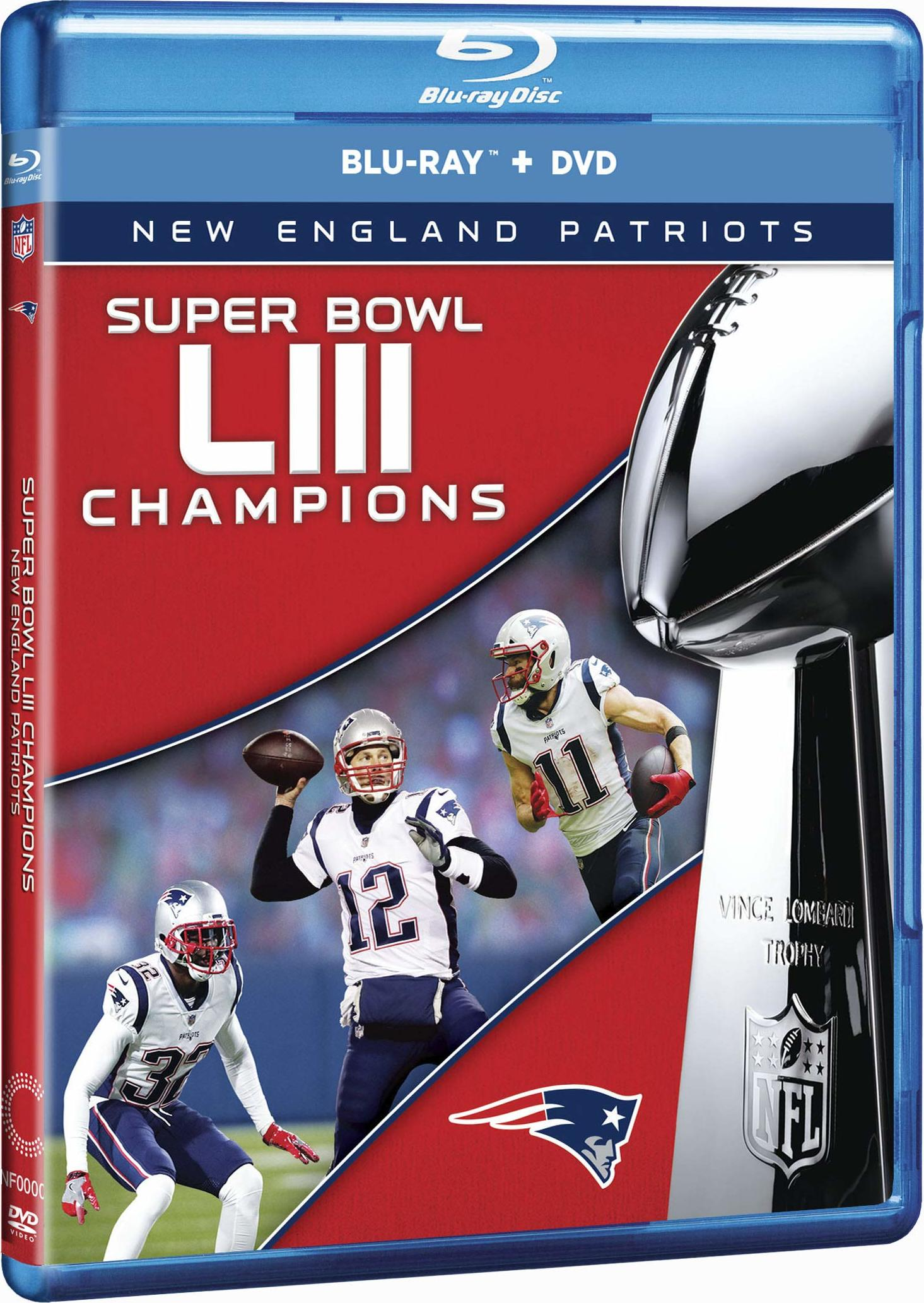 NFL Super Bowl LIII (53)(Blu-ray)(Region Free)