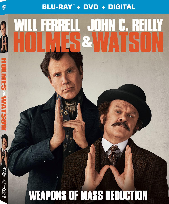 Holmes & Watson (Blu-ray)(Region A)(Pre-order / Apr 9)