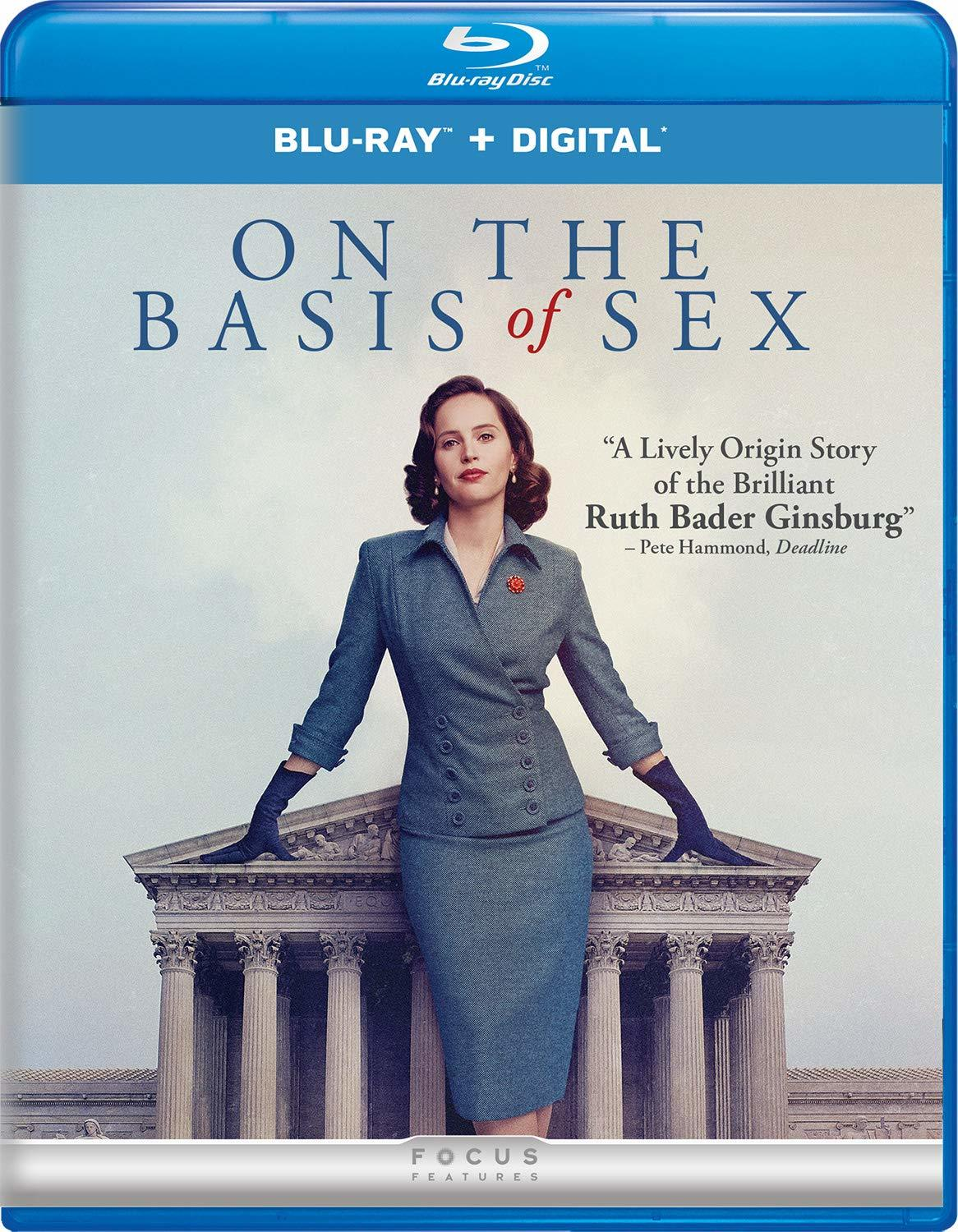 On the Basis of Sex (Blu-ray)(Region Free)(Pre-order / Apr 9)