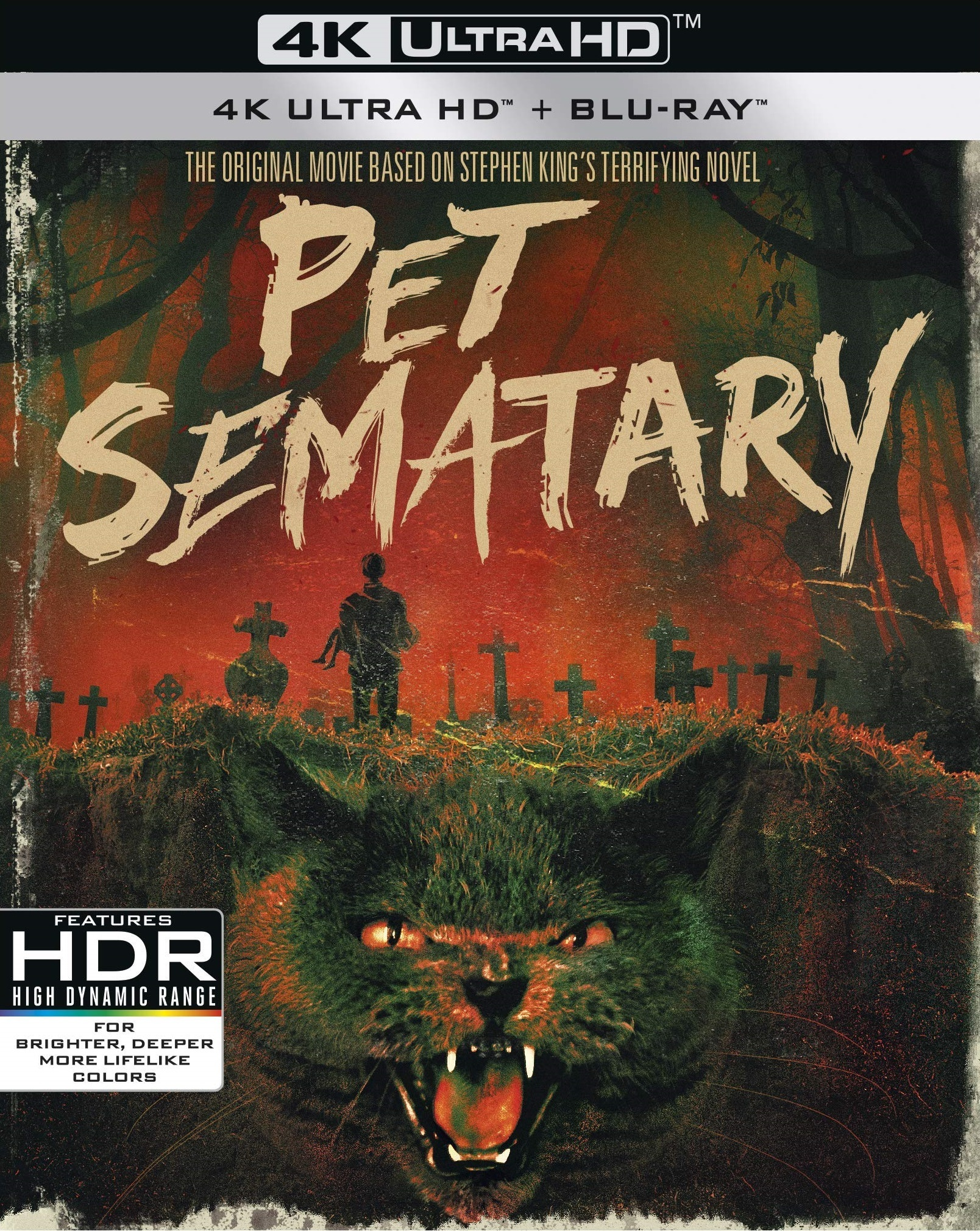 Pet Sematary (30th Anniversary Edition)(4K Ultra HD Blu-ray)(Pre-order / Mar 26)