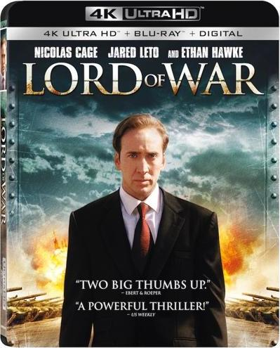 Lord of War (4K Ultra HD Blu-ray)(Pre-order / Mar 19)