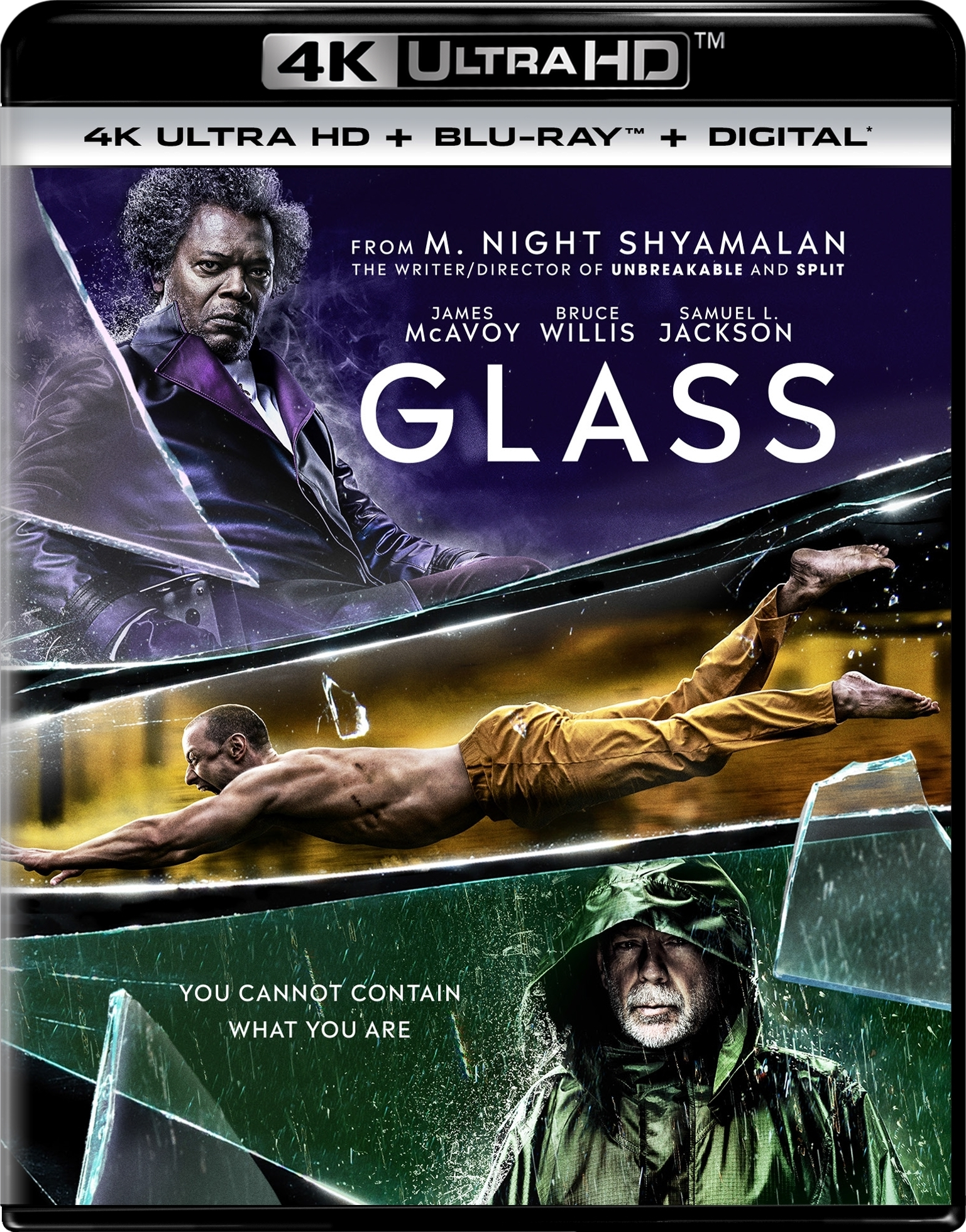 Glass (4K Ultra HD Blu-ray)(Pre-order / TBA)