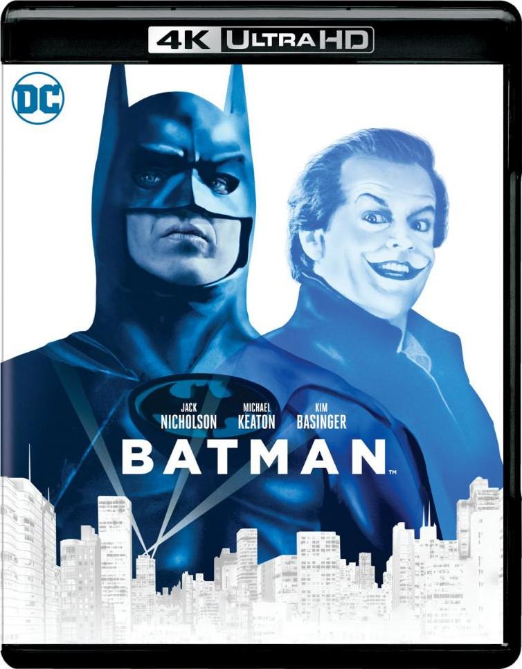 Batman (1989)(4K Ultra HD Blu-ray)(Pre-order / Jun 4)