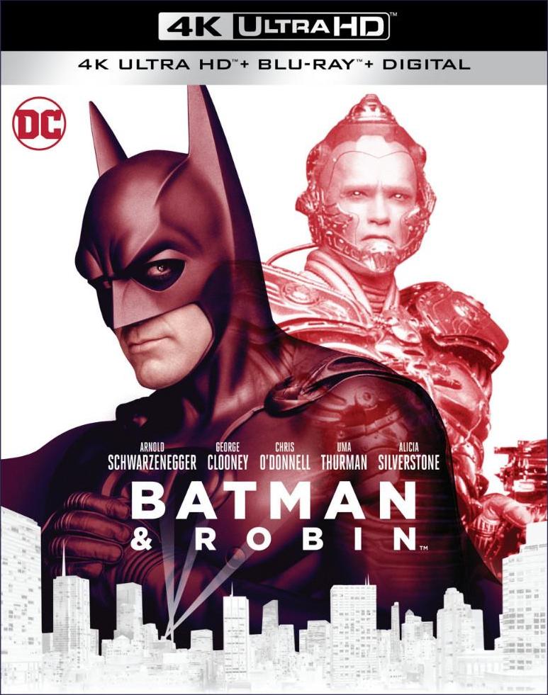 Batman & Robin (4K Ultra HD Blu-ray)(Pre-order / Jun 4)