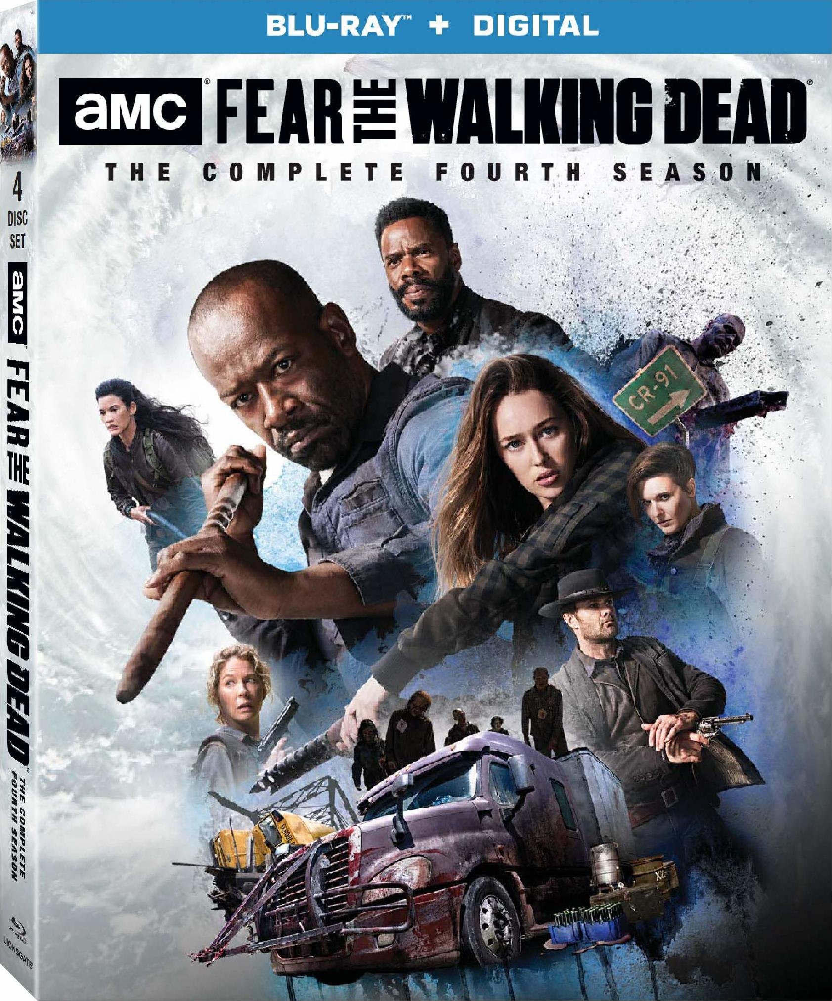 Fear the Walking Dead: The Complete Fourth Season (Blu-ray)(Region A)