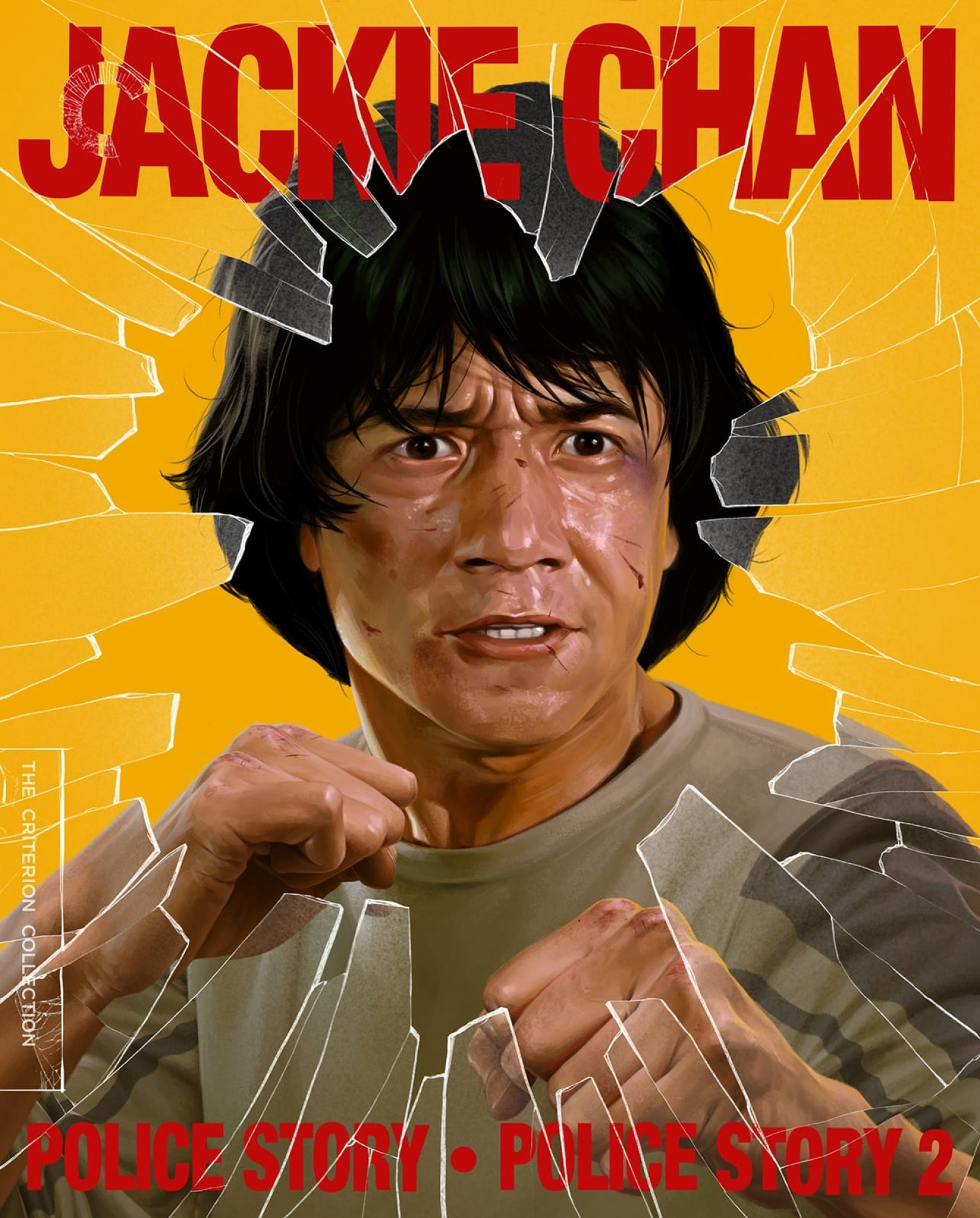 Police Story 1 and 2 (The Criterion Collection)(Blu-ray)(Region A)