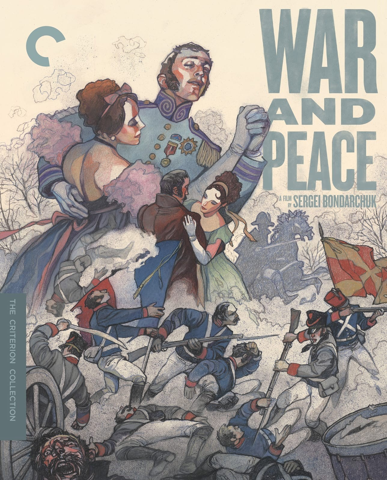 War and Peace (The Criterion Collection)(Blu-ray)(Region A)(Pre-order / Jun 25)