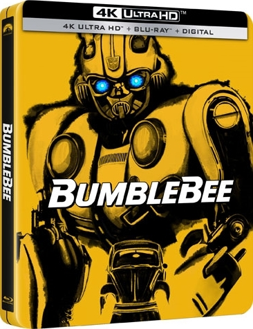 Bumblebee (SteelBook)(4K Ultra HD Blu-ray)(Pre-order / Apr 2)