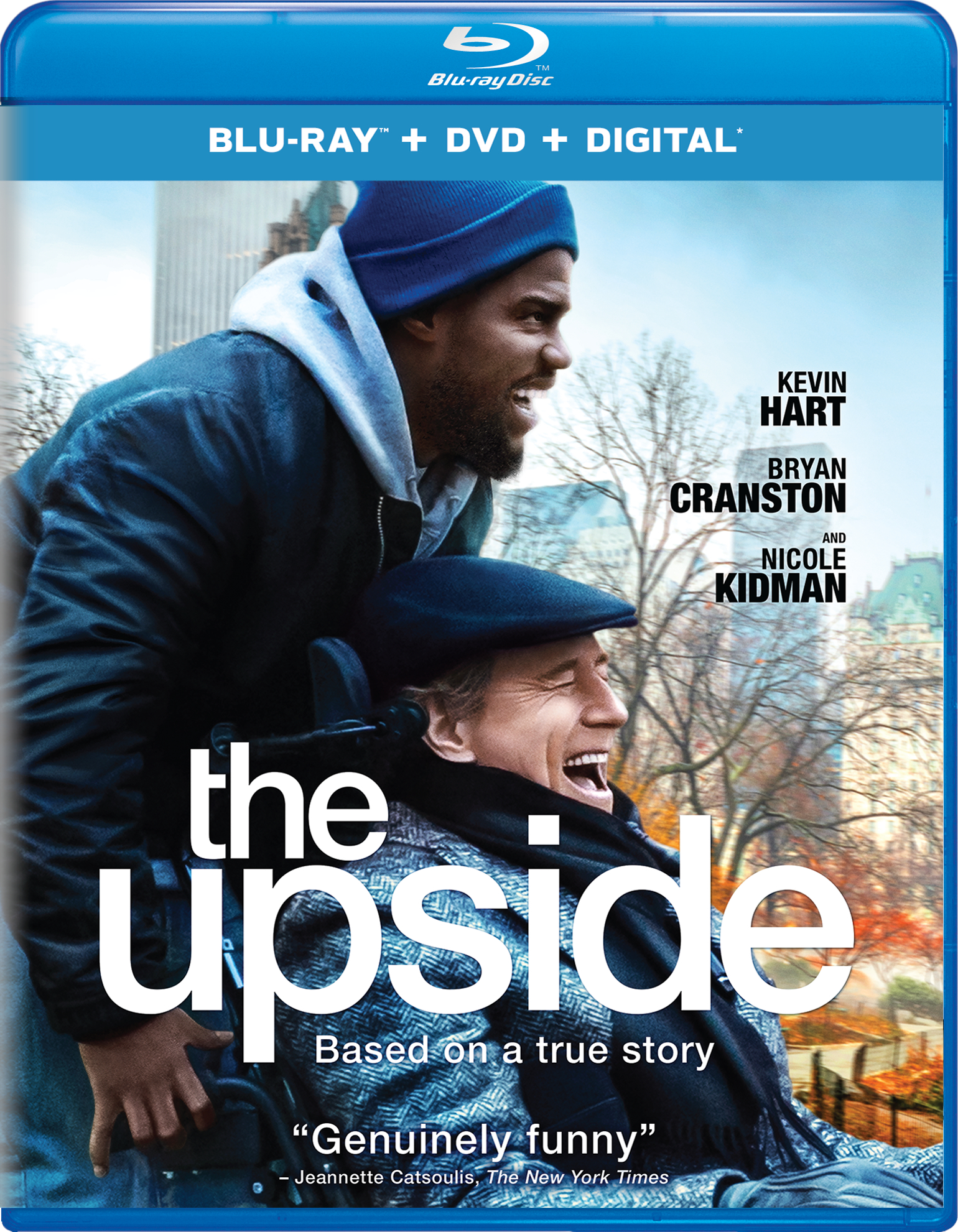 The Upside (Blu-ray)(Region A)