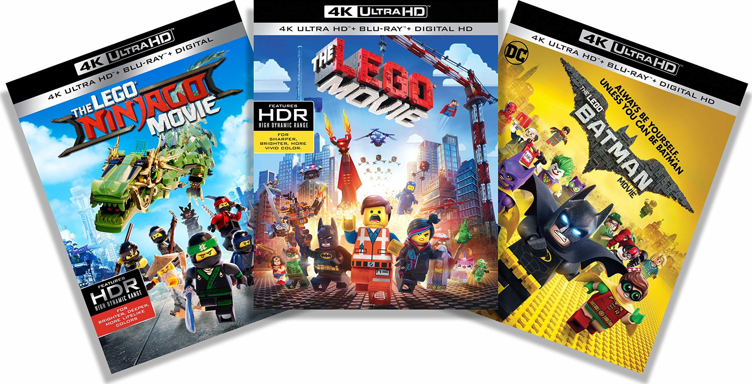 The Lego Movie: 3-Film Collection (4K Ultra HD Blu-ray)