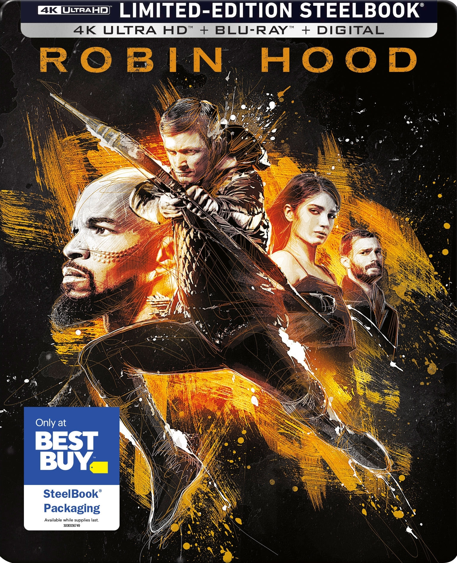 Robin Hood (2018)(SteelBook)(4K Ultra HD Blu-ray)
