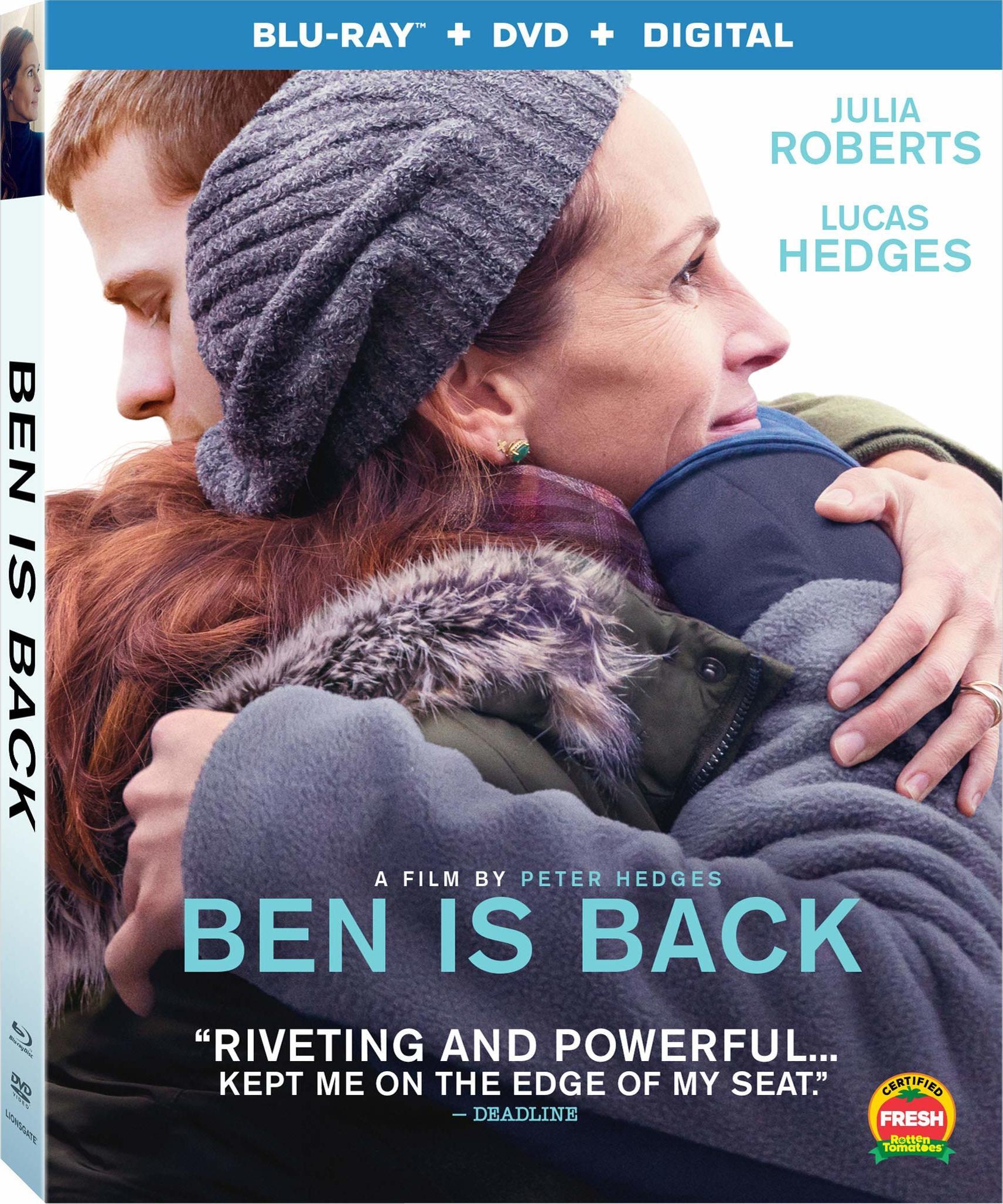 Ben Is Back (Blu-ray)(Region A)(Pre-order / Mar 5)