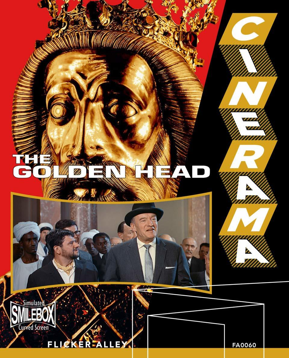 The Golden Head (Blu-ray)(Region A)