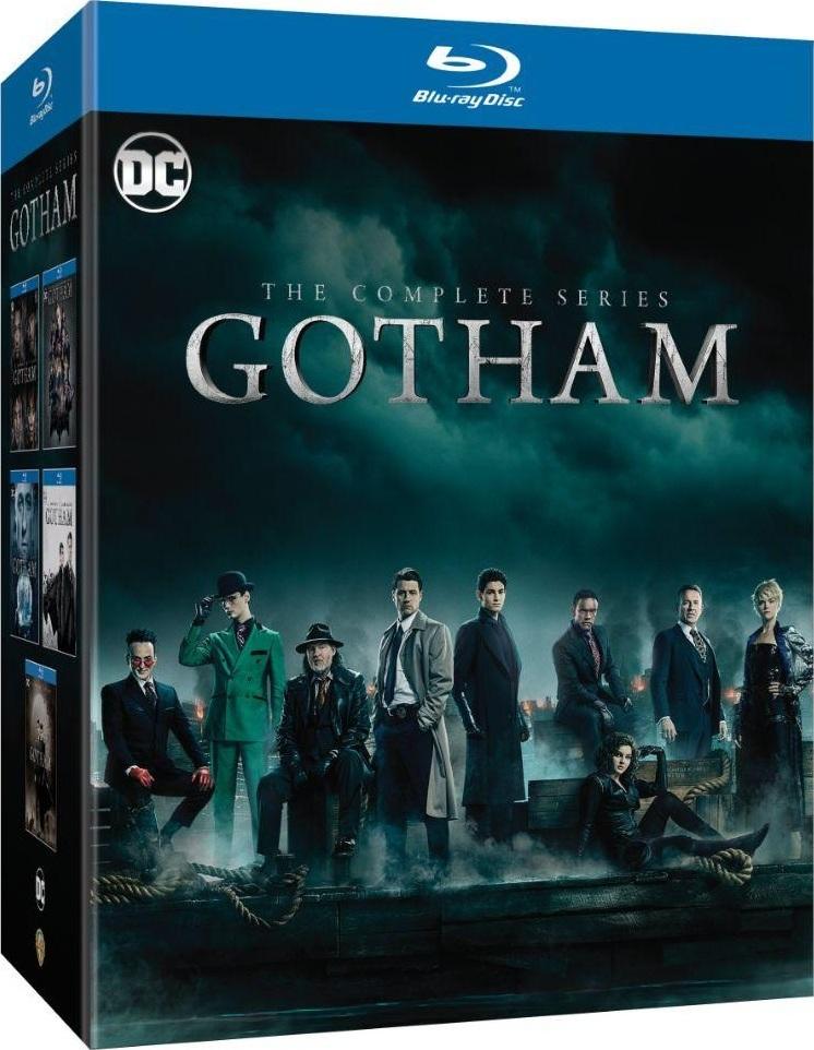Gotham: The Complete Series (Seasons 1-5)(Blu-ray)(Region Free)(Pre-order / Jul 9)