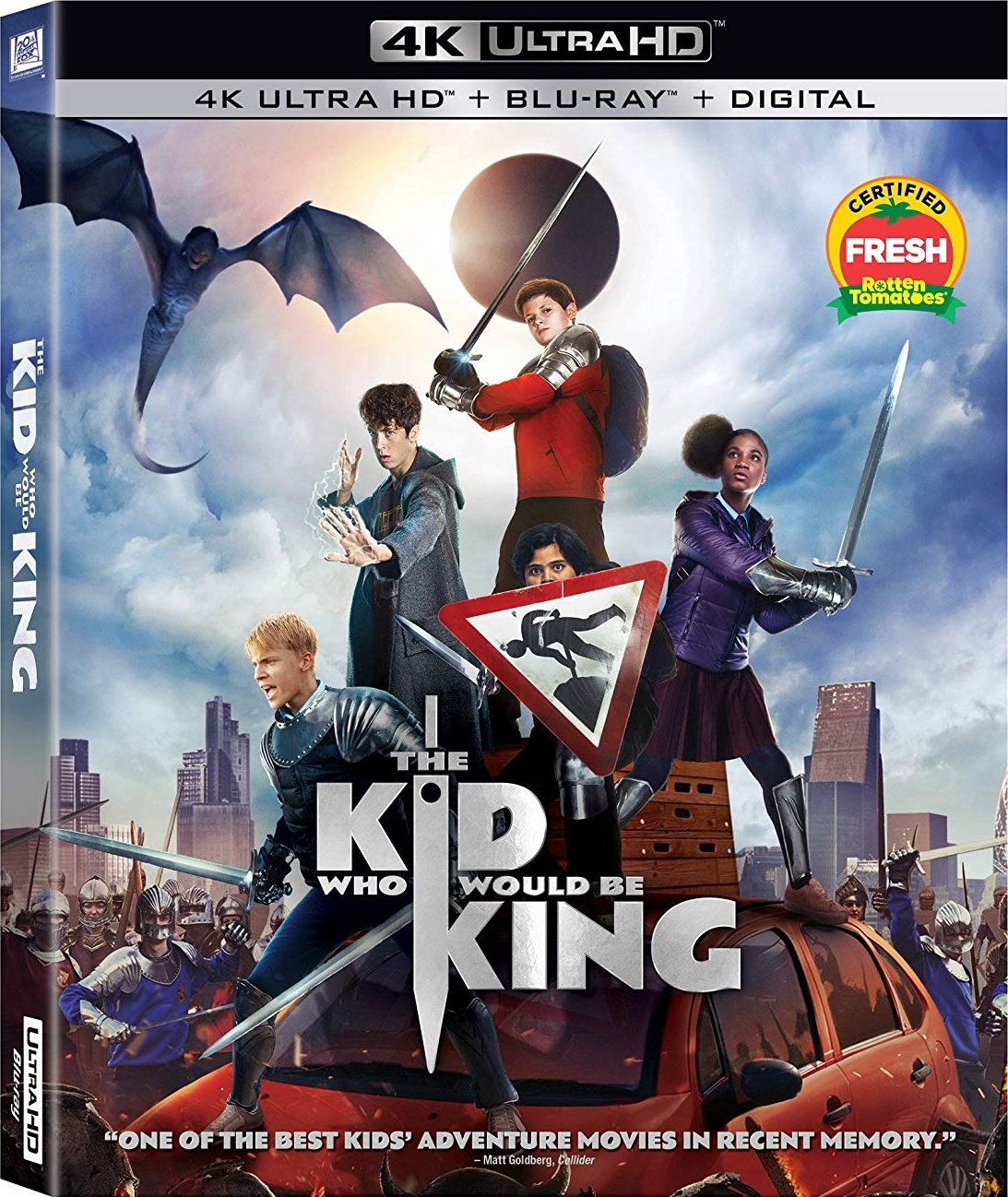 The Kid Who Would Be King (4K Ultra HD Blu-ray)(Pre-order / TBA)