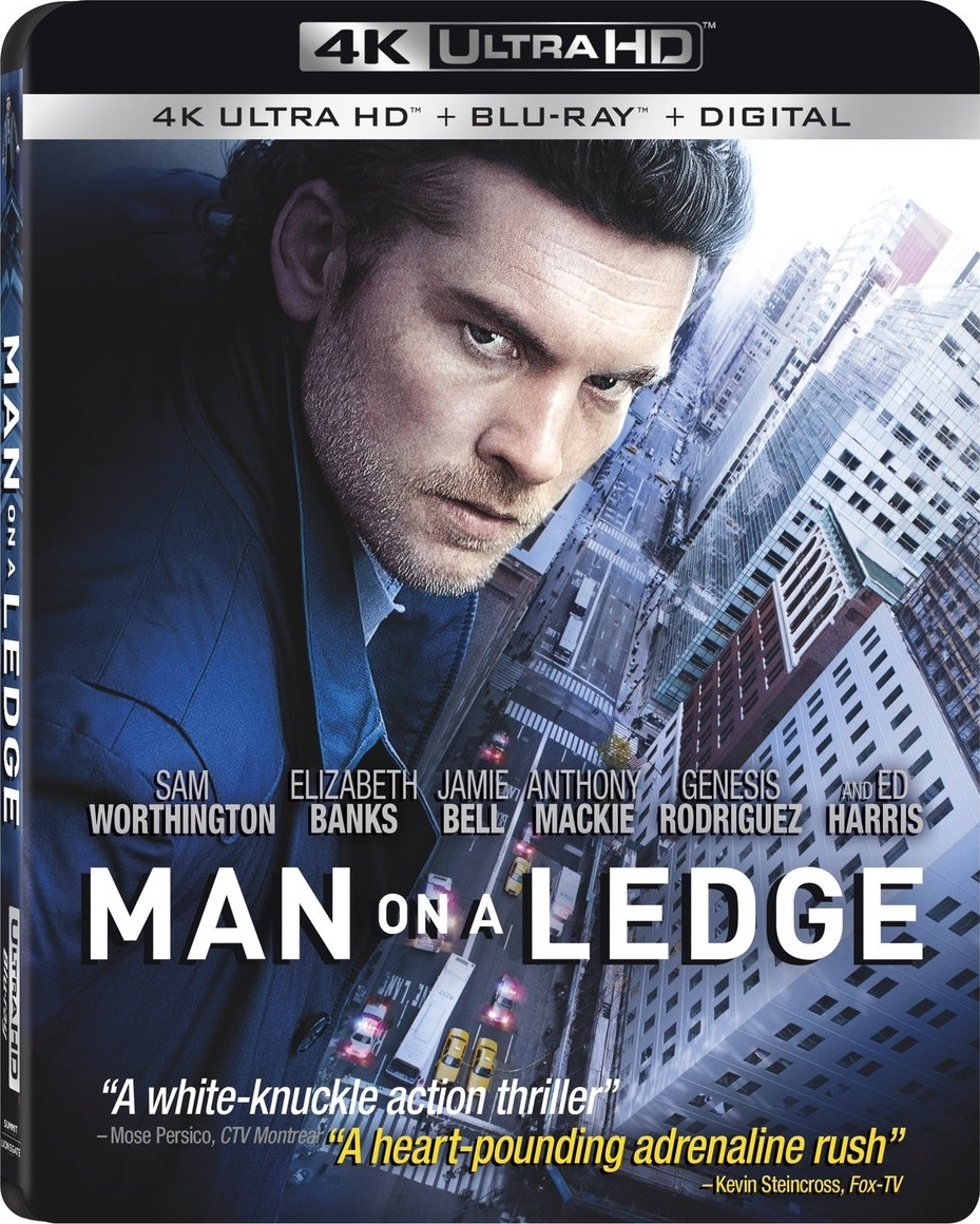 Man on a Ledge (4K Ultra HD Blu-ray)(Pre-order / Apr 9)
