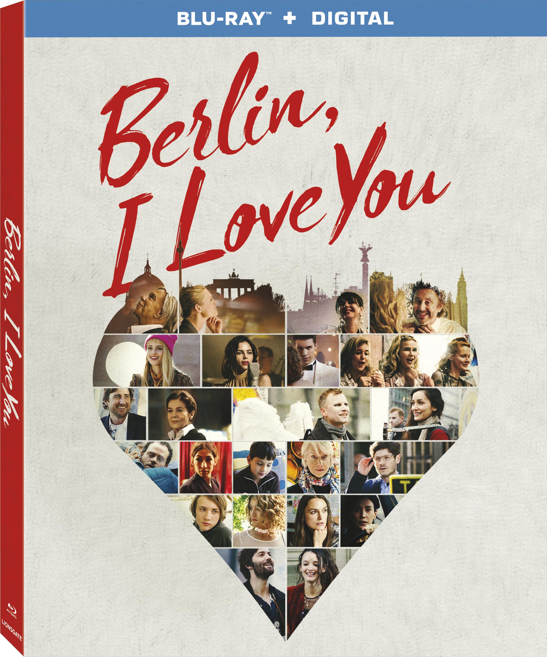 Berlin, I Love You (Blu-ray)(Region A)