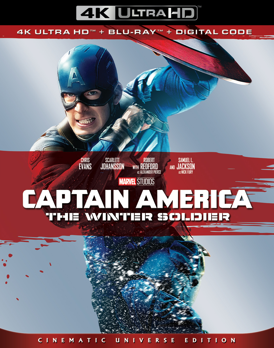 Captain America 2: The Winter Soldier (4K Ultra HD Blu-ray)(Pre-order / TBA)