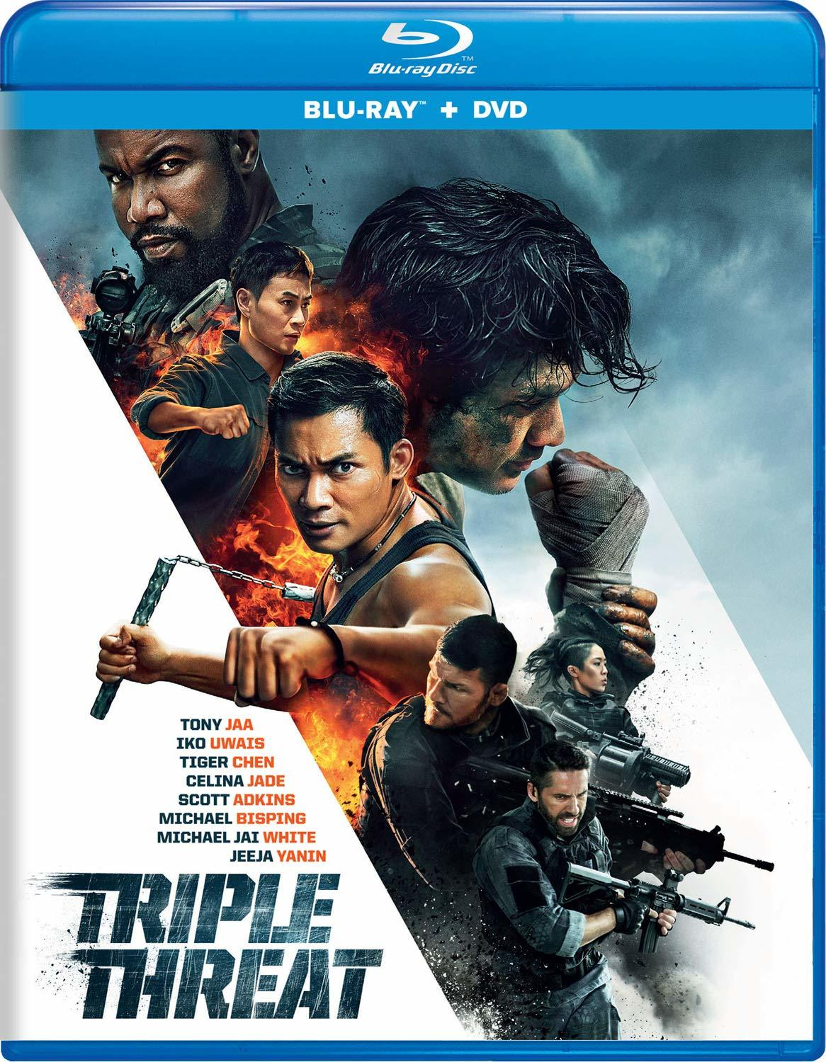 Triple Threat (Blu-ray)(Region Free)