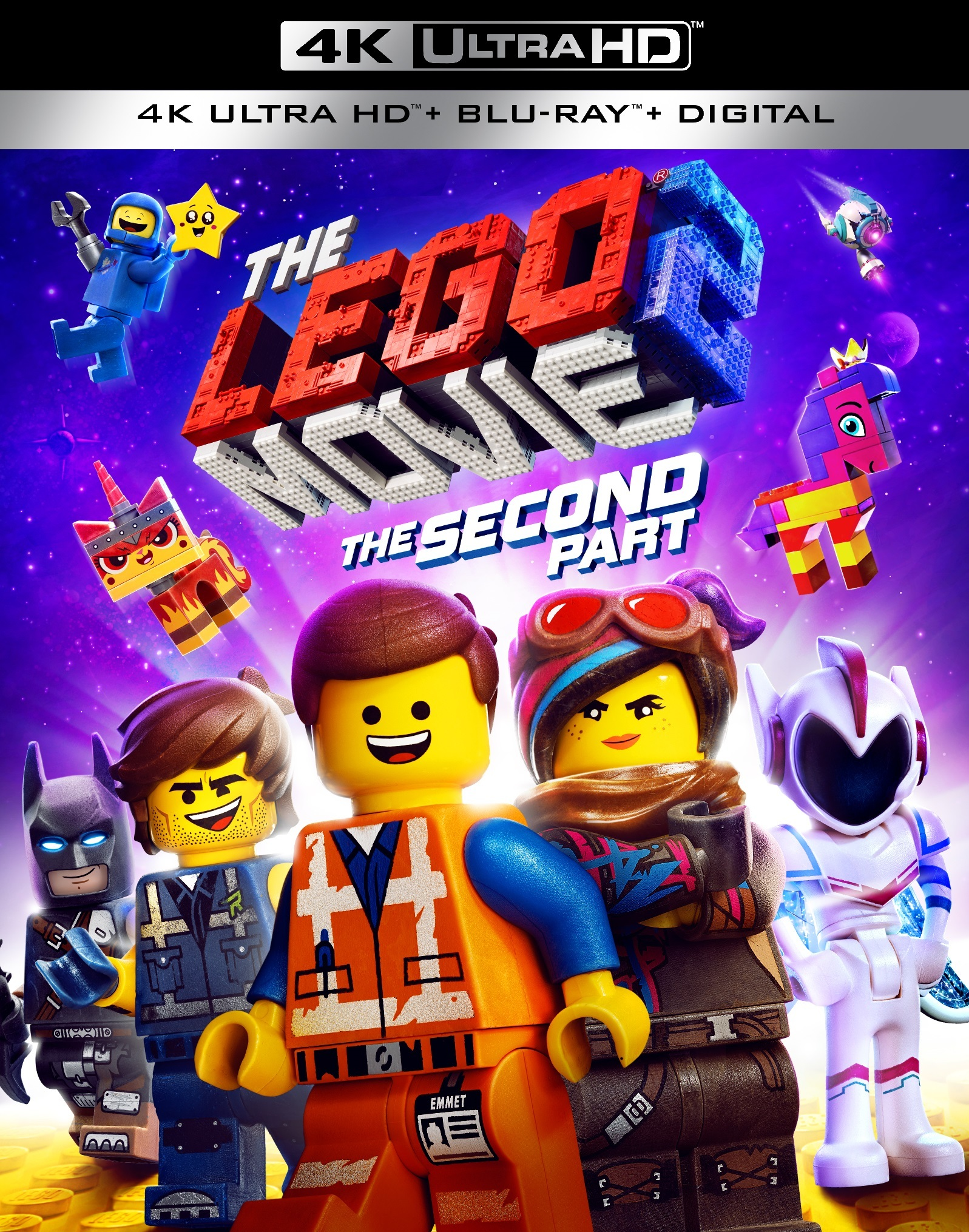 The LEGO Movie 2: The Second Part (4K Ultra HD Blu-ray)(Pre-order / May 7)