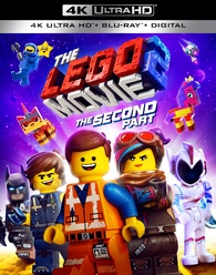 The LEGO Movie 2: The Second Part 4K Blu-ray