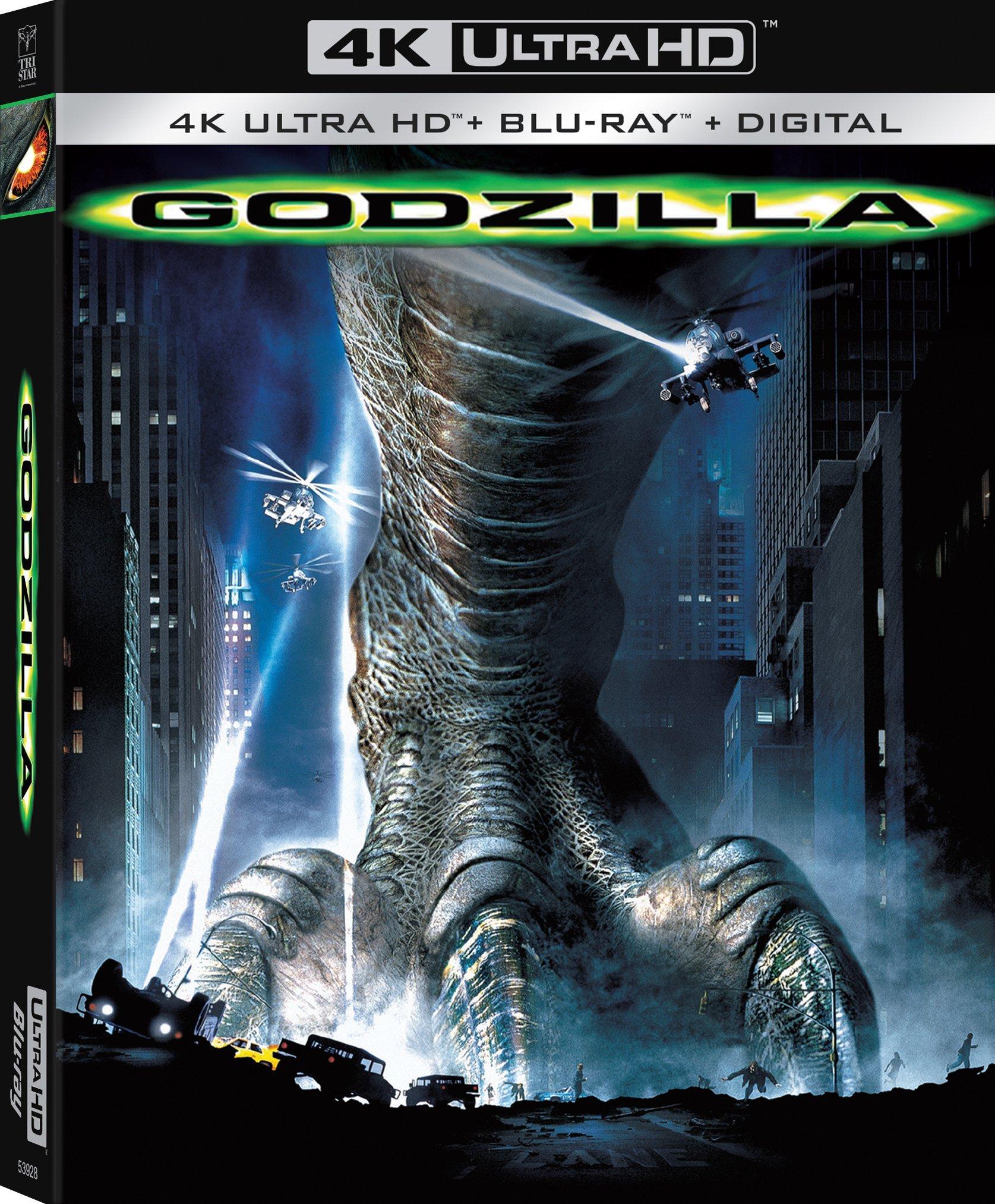 Godzilla (1998)(4K Ultra HD Blu-ray)(Pre-order / May 14)