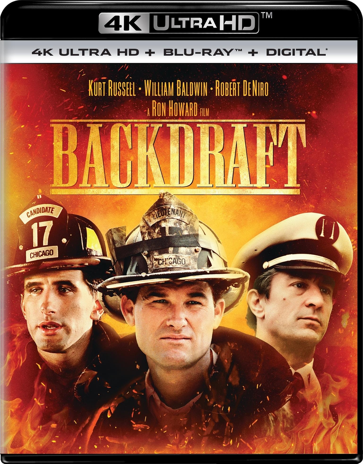 Backdraft (4K Ultra HD Blu-ray)(Pre-order / May 7)