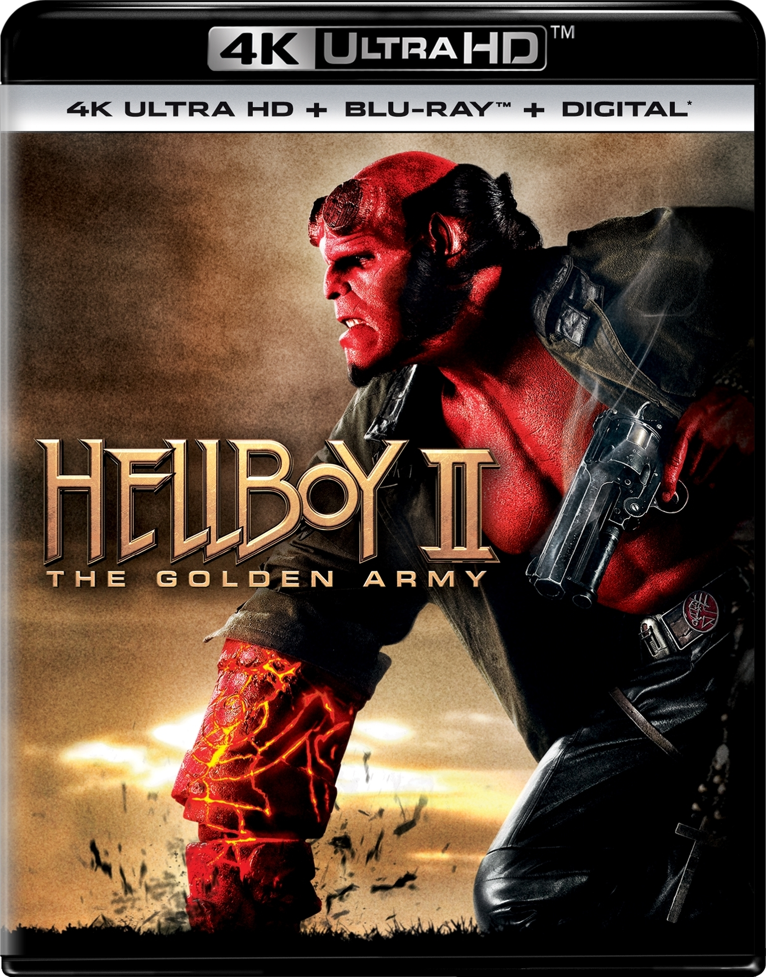 Hellboy 2: The Golden Army (4K Ultra HD Blu-ray)(Pre-order / May 7)