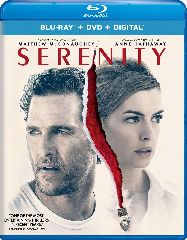 Serenity (2018)(Blu-ray)(Region Free)
