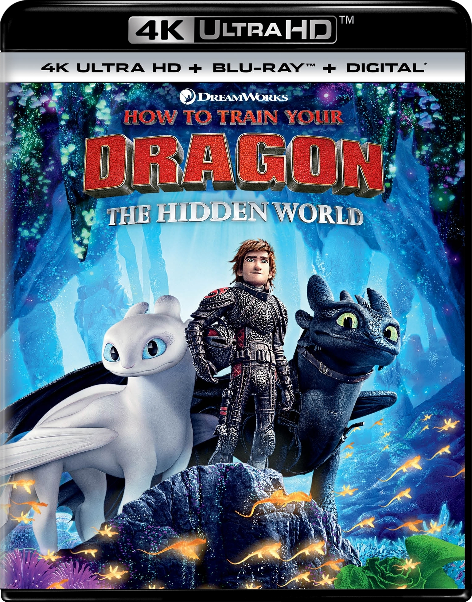 How to Train Your Dragon 3: The Hidden World (4K Ultra HD Blu-ray)(Pre-order / TBA)