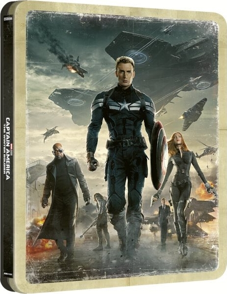 Captain America 2: The Winter Soldier (SteelBook)(4K Ultra HD Blu-ray)(Pre-order / TBA)