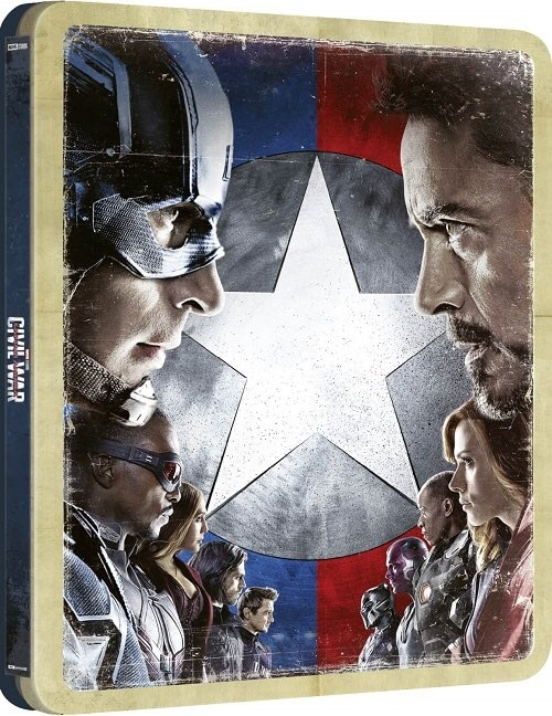 Captain America 3: Civil War (SteelBook)(4K Ultra HD Blu-ray)(Pre-order / TBA)
