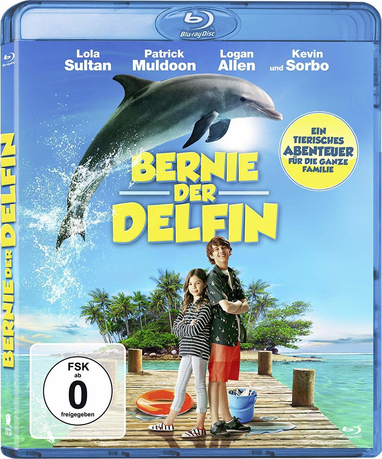 Bernie The Dolphin Blu Ray Germany