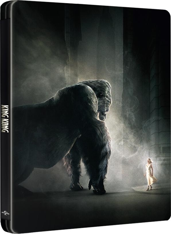 King Kong (2005)(SteelBook)(4K Ultra HD Blu-ray)(Pre-order / May 14)